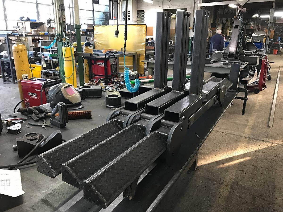 Detroit Wrecker Fork Lift Attachment